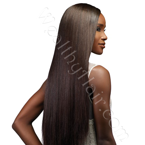 Clip On Hair Extensions For Black Hair 19