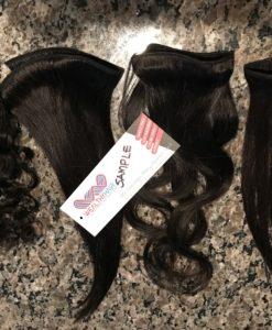 virgin hair sample wholesale