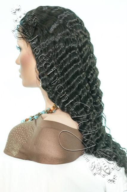 Deep Wave Hair Style Texture Wealthy Hair