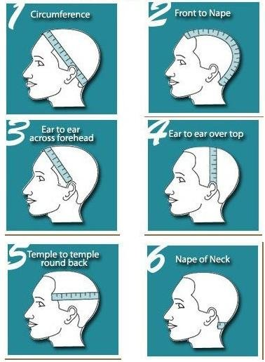 How To Measure Your Head For Full Lace Front Wigs Wealthy Hair