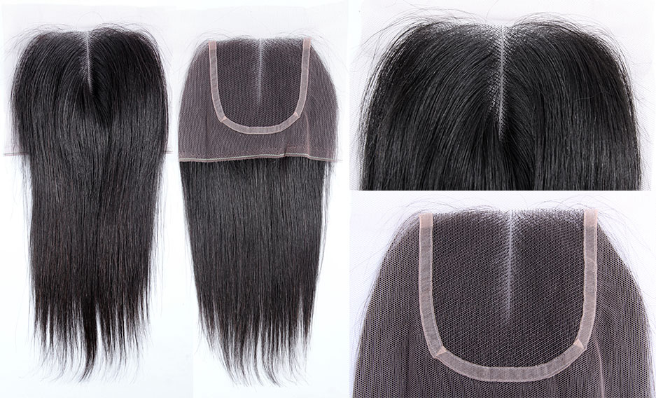 ... Virgin Remy Human Hair Lace Closure Natural Straight Wealthy Hair