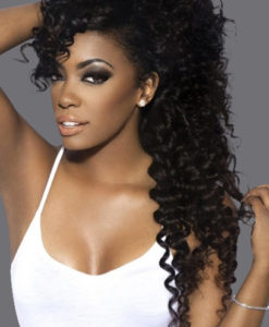 Island Curly Human Virgin Remy Hair Weave Extensions WealthyHair