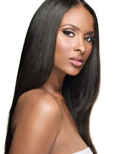 Virgin Brazilian Remy Yaki Relaxed Straight Weave Hair Extensions Wealthy Hair