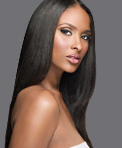 Virgin Brazilian Remy Yaki Straight Weave Hair Extensions Wealthy Hair Natural Black