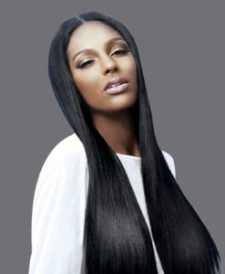 Virgin Remy Human Hair Weave Extensions Yaki Relaxed Straight WealthyHair