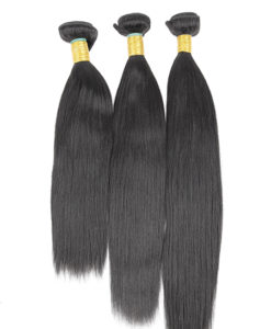 hair bundles 14 16 18 yaki straight relaxed virgin remy brazilian peruvian malaysian indian weave