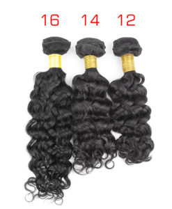 virgin remy weave island curly weave hair 12 14 16 18 inches
