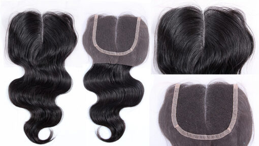 Brazilian Virgin Remy Human Hair Lace Closure Body Wavy Wealthy Hair