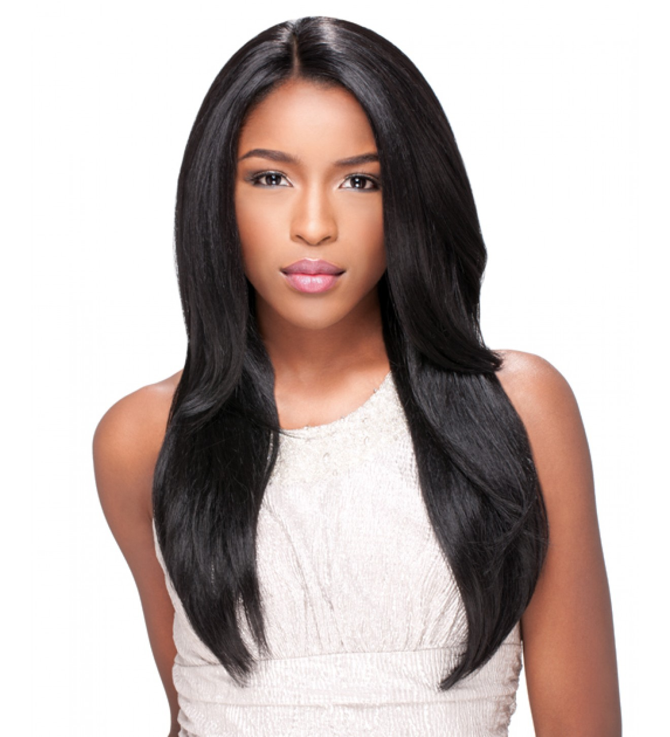 Hairstyles For Straight Hair Weave : Virgin remy sew in weave hair extensions natural straight