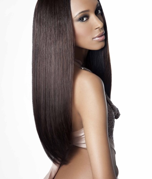 Virgin Remy Human Hair Weave Extensions Natural Straight Wealthy Hair