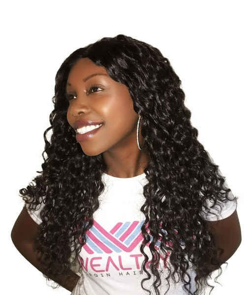 Virgin Remy Sew In Weave Hair Extensions Island Curly