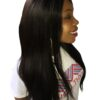 relaxed yaki straight hair weave natural looking african american