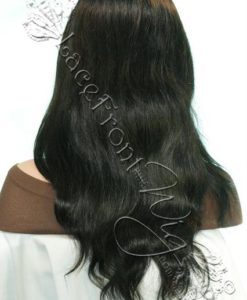 natural wavy full lace front wigs