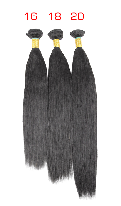 hair bundle deals 16 18 20 yaki straight virgin brazilian peruvian malaysian indianremy weave relaxed