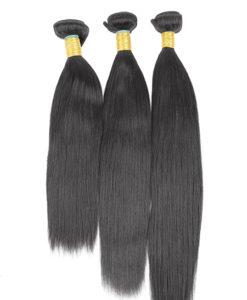 hair bundles 14 16 18 yaki straight relaxed virgin remy brazilian peruvian malaysian indian weave