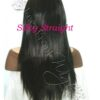 Virgin Brazilian Silky Straight Full Lace Front Wigs Wealthy Hair
