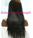 virgin peruvian yaki relaxed full lace front wigs Wealthy Hair