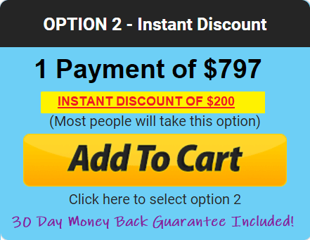 1 Time Payment Plan
